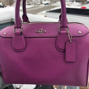 💜Coach Mini Bennett Satchel💜